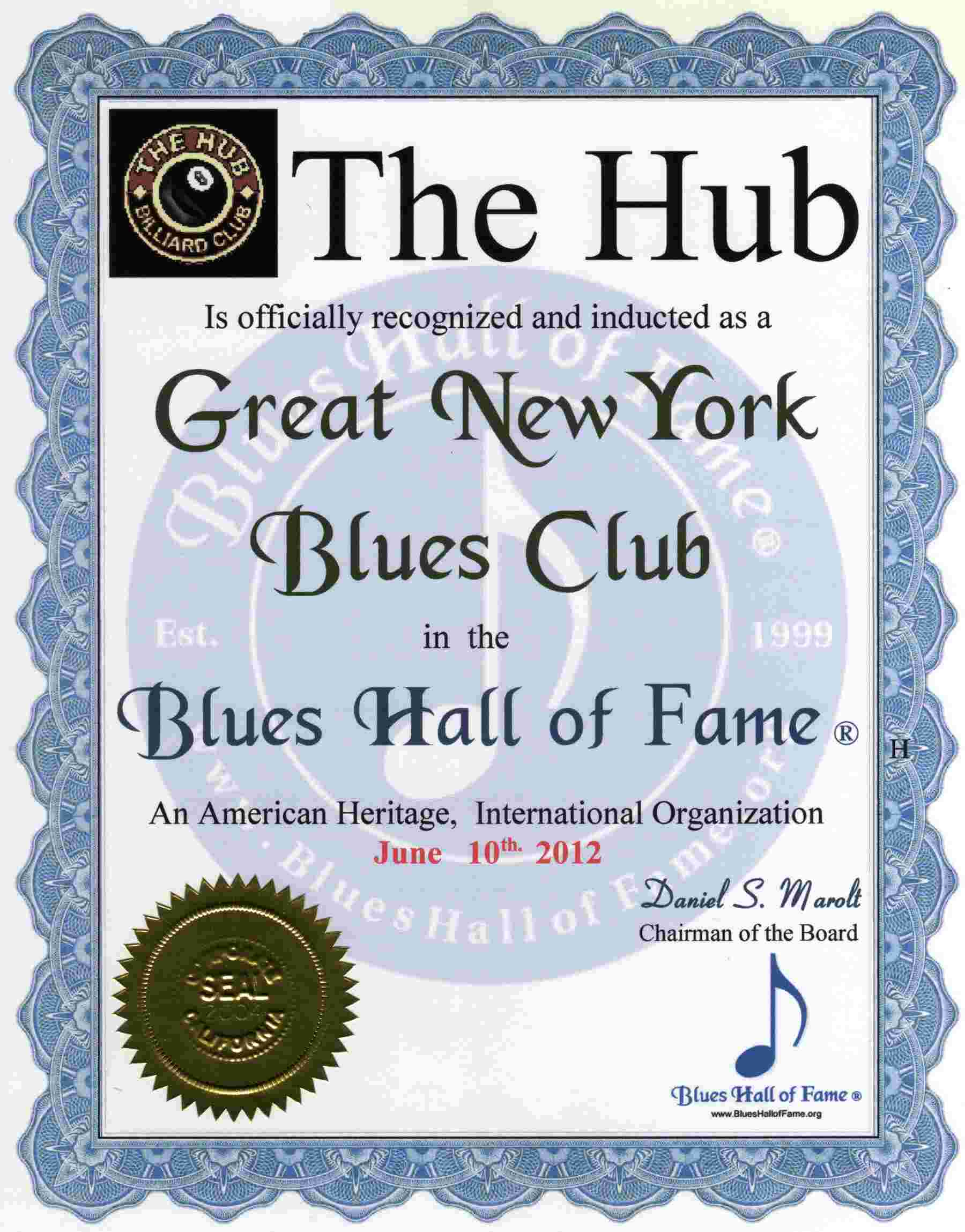 blues hall of fame great blues bars of new york includes