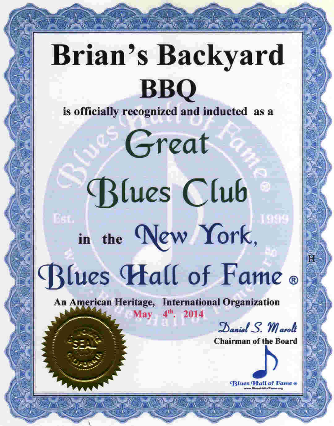 new york blues hall of fame inducted legendary master